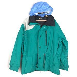 Vintage rare pro Anzi Besson Italian ski jacket